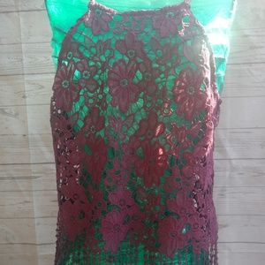 Size medium lace tank